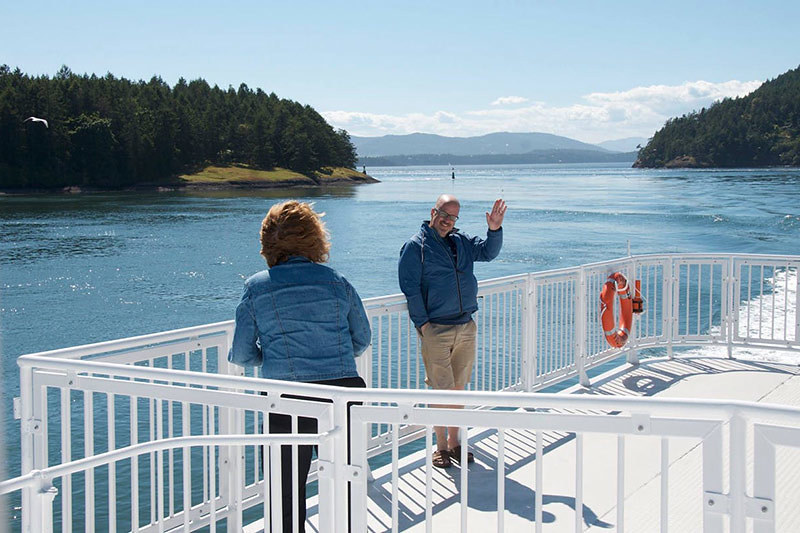 Passenger Ferry service between Victoria and Vancouver, BC