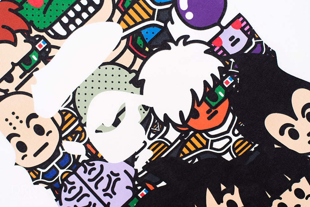 Dragon Ball Z x Bape.