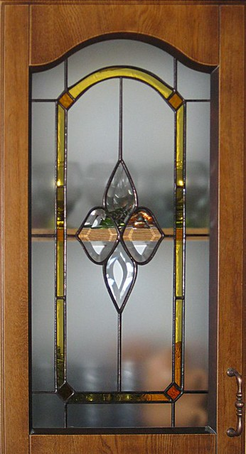 vitráž do kuchyňských dvířek