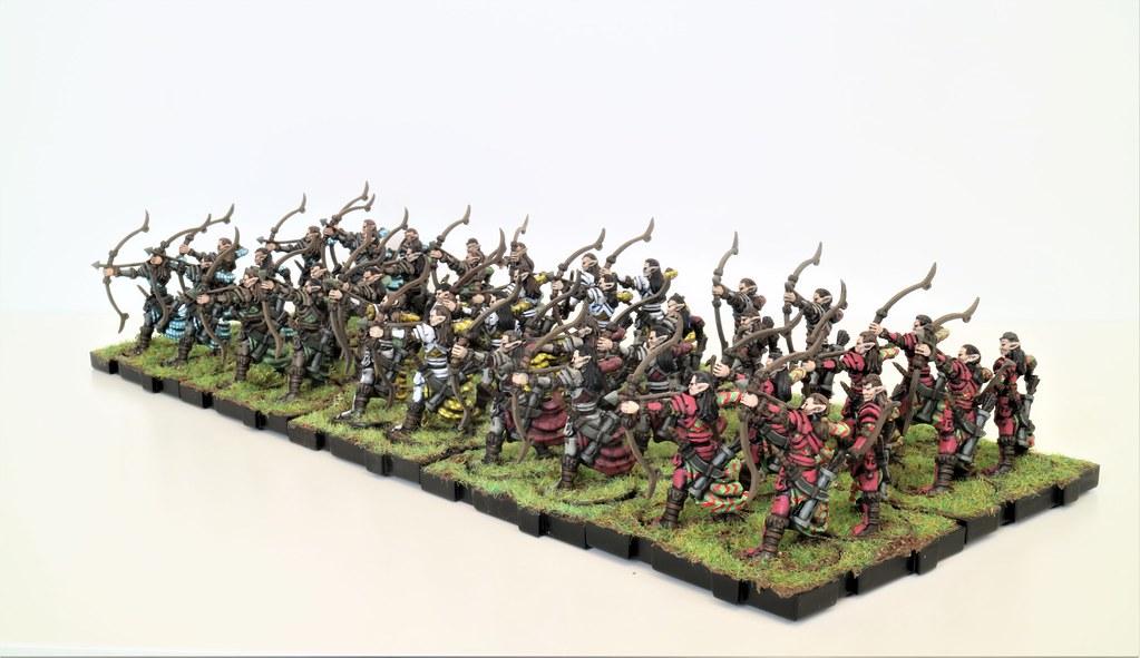 Runewars Miniatures Latari Elven Archers