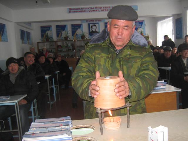 Stay warm, Kyrgystan!