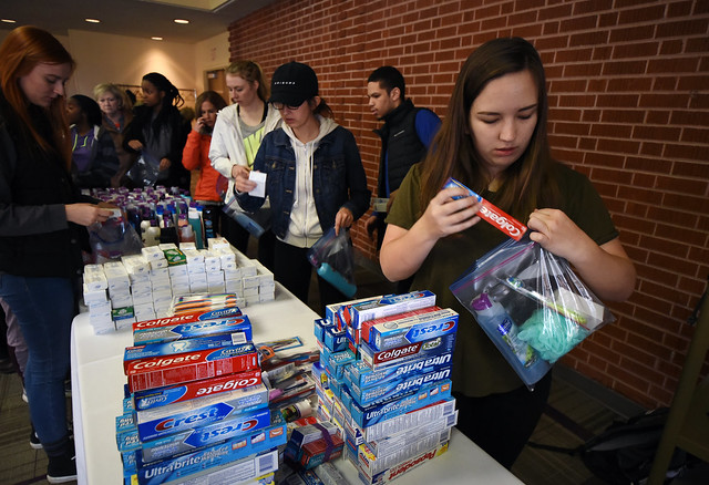 Students Participate in MLK Day Activities