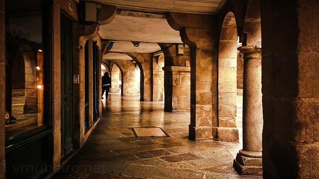 Deambulando por Santiago de Compostela...