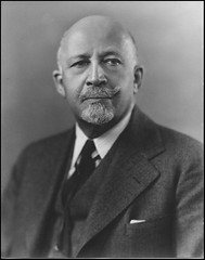 NAACP founder and advocate of action W. E. B. Dubois: 1945