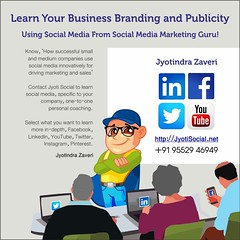 Call Jyoti for social media training!