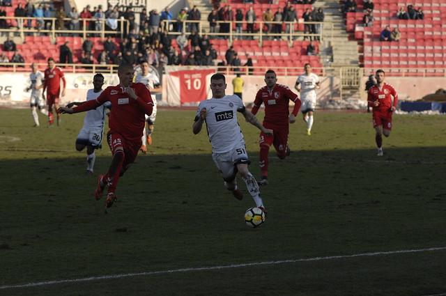Radnicki - Partizan 1:0