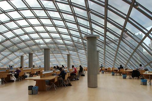 University of Chicago Joe and Rika Mansueto Library