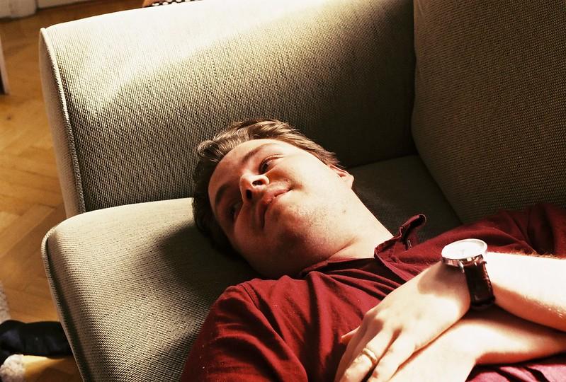 Oscar i soffan