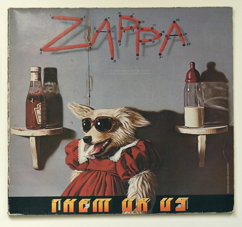A0488 FRANK ZAPPA Them Or Us