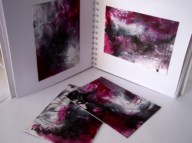 magenta abstract 8