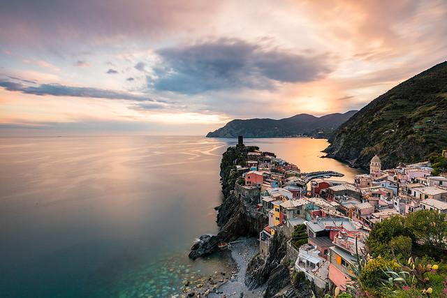 Italy: Vernazza Pastels