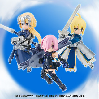 Desktop Army x《Fate/Grand Order》阿爾托莉亞 / 瑪修 / 聖女貞德(デスクトップアーミー マシュ、アルトリア、ジャンヌ・ダルク)