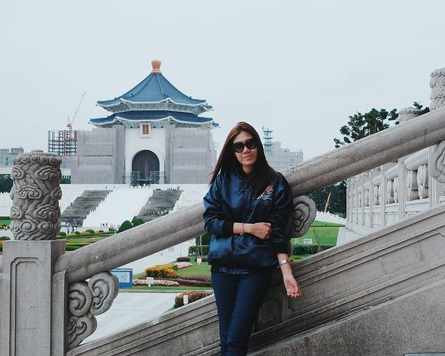 Taiwan travel 2018 chiang Kai Shek Memorial Hal