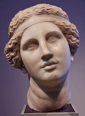 Head of Singing or Talking Dionysus