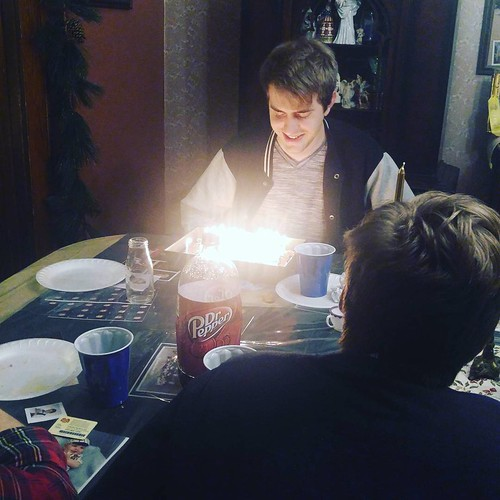 Sam's birthday cake