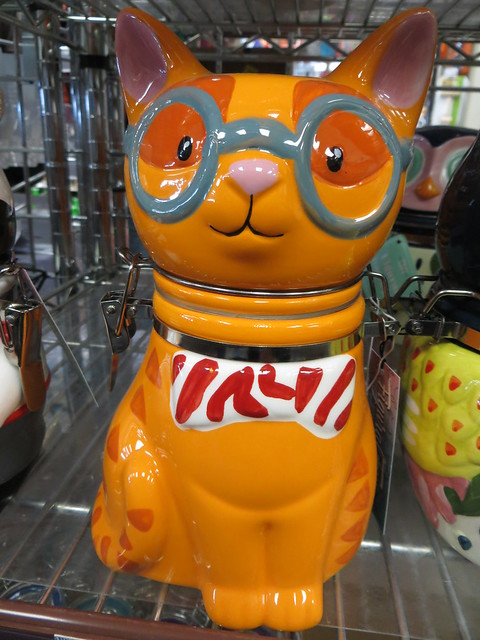 Feline Cookie Jar