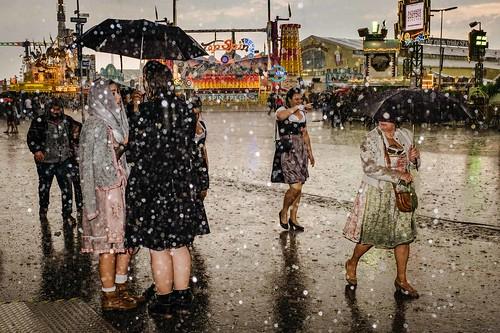 Rain at the Oktoberfest