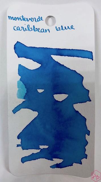 Ink Shot Review Monteverde Caribbean Blue @MonteverdePens @KnightsWritingC 14