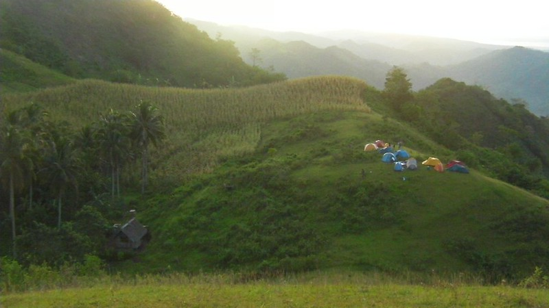 Mt. Naopa camp area