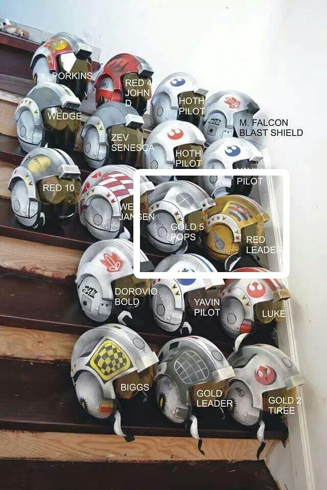 Missing Lego Rebel Helmets