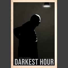 """Darkest Hour"" 2017 film poster"