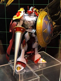 萬代「超進化魂」最新作《數碼寶貝》紅蓮騎士獸(デュークモン)原型首度展出!