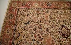 Moghul carpet, Lahore, ca. 1610; Pergamon Museum, Berlin (4)