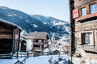 Winter village - Vissoie