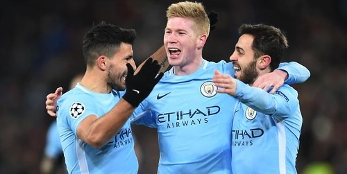 Man City buat rekor Liga Champions