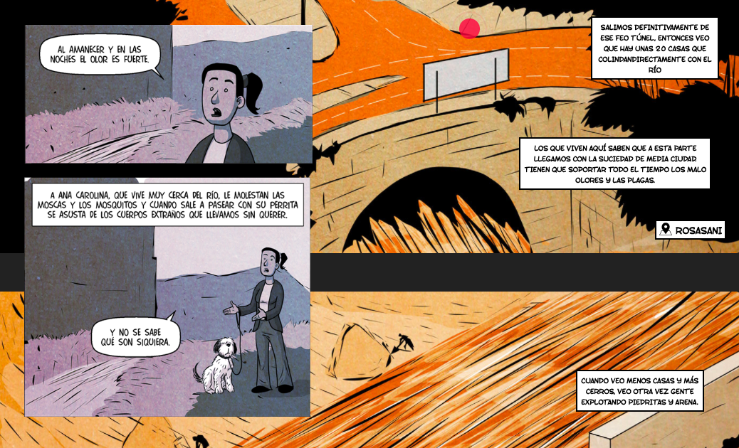 Graphic artists from Latin America use comic journalism to