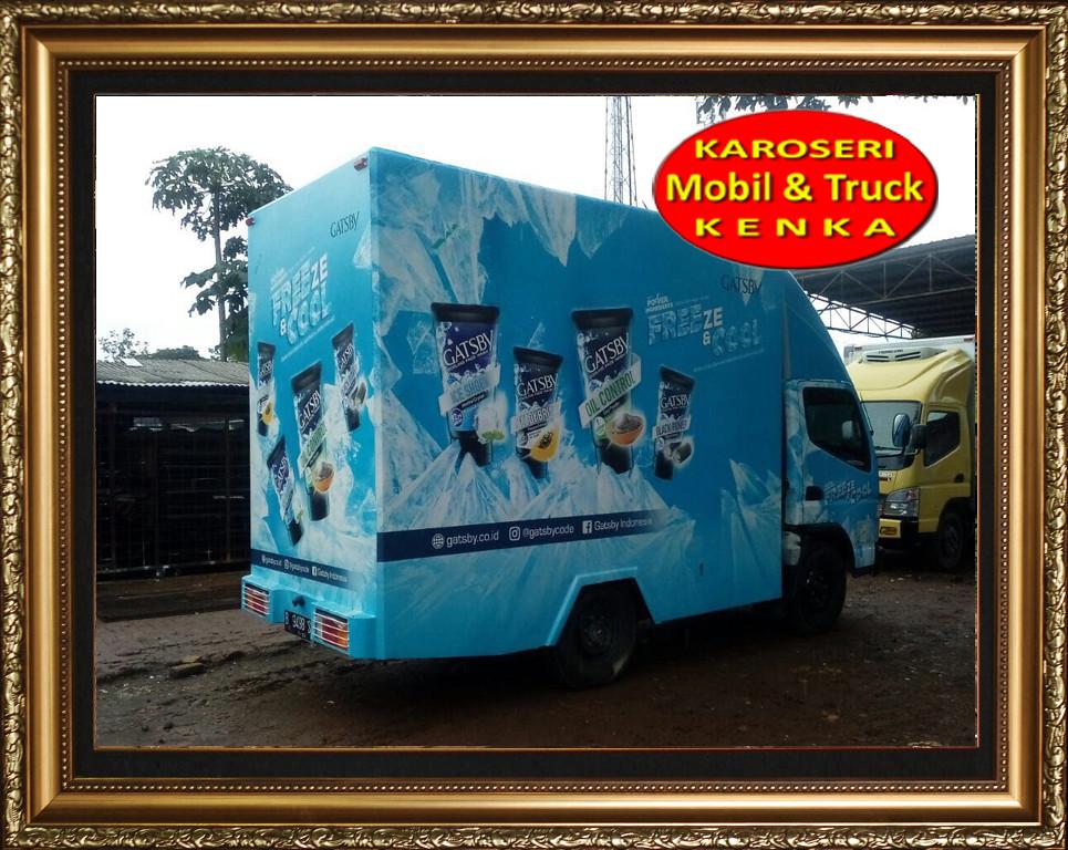 Karoseri Truck Promosi Gasby - 4