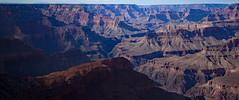 Winter sun over Grand Canyon and Colorado River