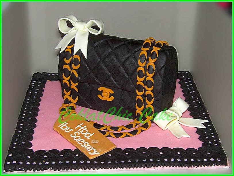 cake branded bag IBU SAESARY 15 cm