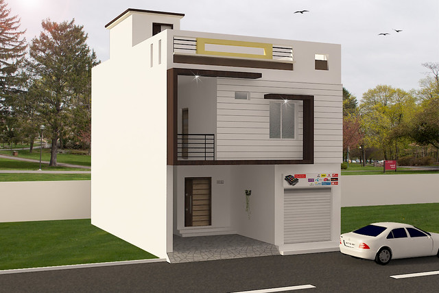 small resident house