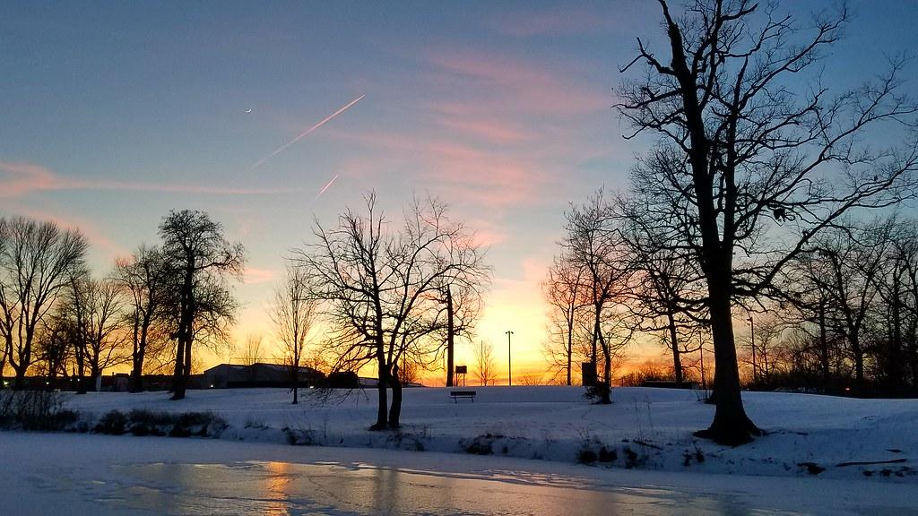 Garvin Park Sunset