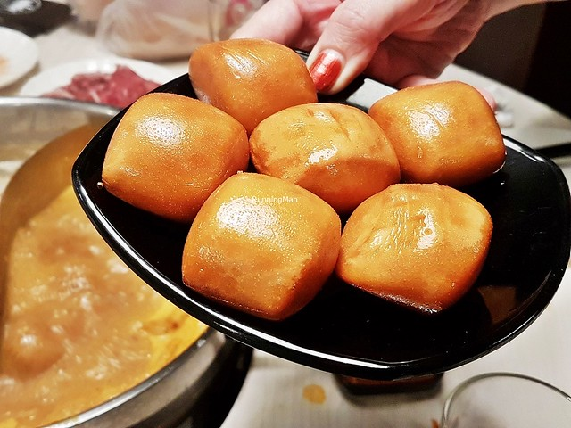 Golden Fried Mantou Bun