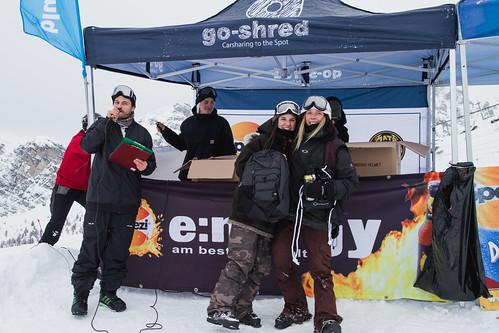 Siegerehrung girls Ski