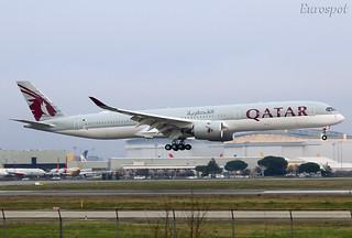 F-WZNR A350-1000 Qatar