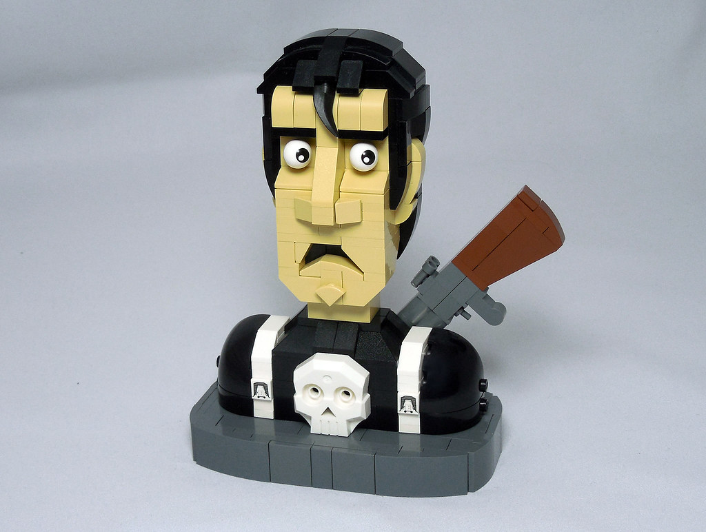 LEGO® MOC by Vitreolum: The Punisher Bust