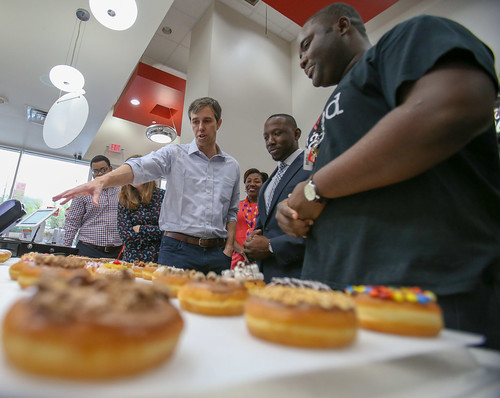 Texas Senate Election 2018: Donuts and Entrepreneurs Roundtable with Beto O'Rourke