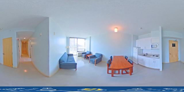 Graduate Residence Lounge 360