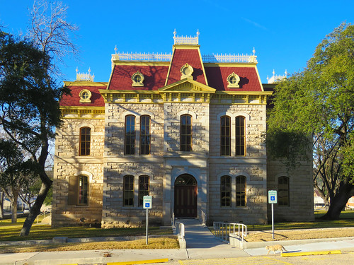 historic stone architecture architecturaldetails smalltown texas sonora courthouse