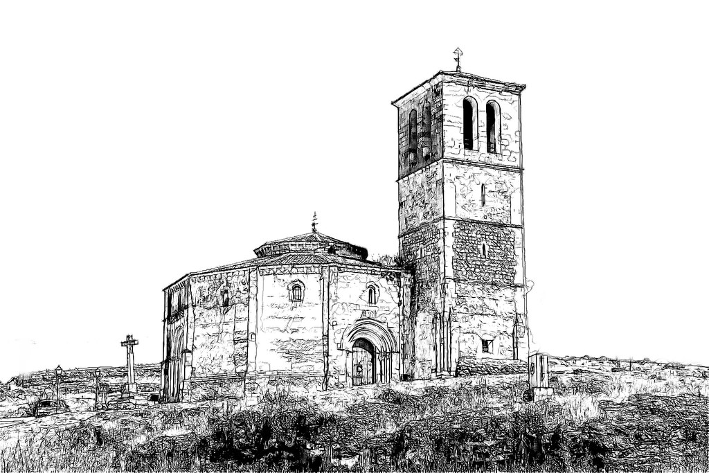 La iglesia de la Vera Cruz, anteriormente conocida como del Santo Sepulcro