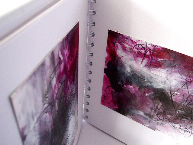magenta abstract 9