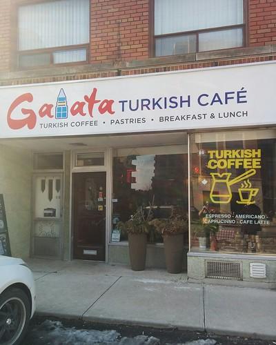 Galata Cafe #toronto #islingtoncitycentrewest #galatacafe #dundasstreetwest #coffee #restaurant #latergram