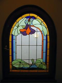 vitráž secese