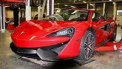 McLaren 570 striping