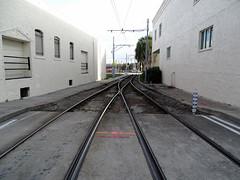Tampa Bay Historical YBOR City (Hillsborough Area Regional Transit Authority) HART TECO Line Trolley Line Carhouse Area