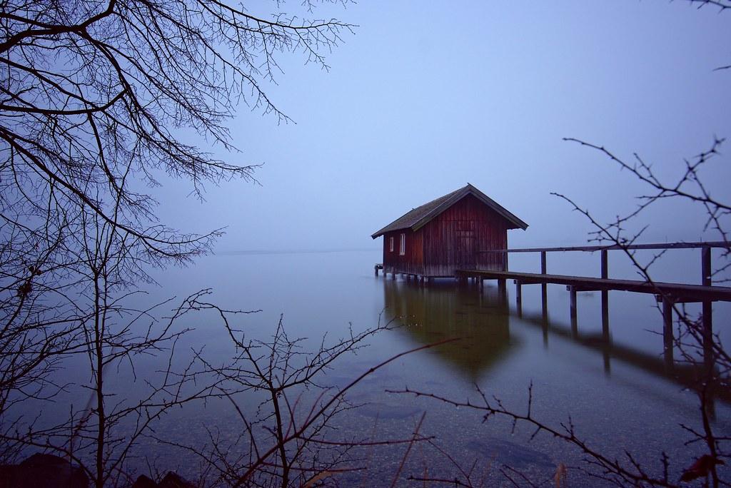 Morning at lake Ammersee