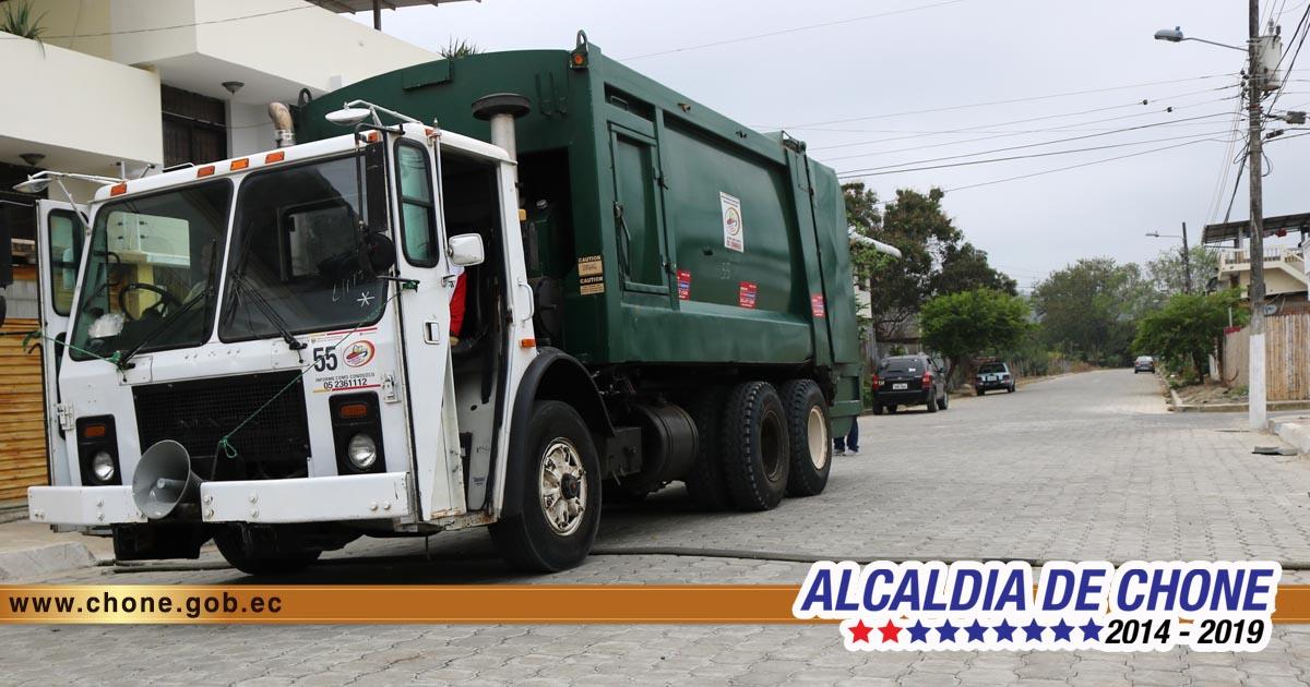 80 toneladas diarias de desechos sólidos se recogen en Chone